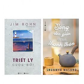 Combo Sống Đơn Giản Cho Mình Thanh Thản + Bộ Sách Jim Rohn - Triết Lý Cuộc Đời (Tái Bản)