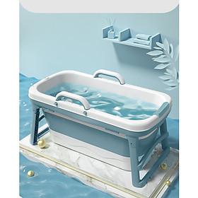 Bồn tắm gấp gọn bằng silicon cao cấp -bồn tắm cho cả gia đình 1m18-hàng chính hãng