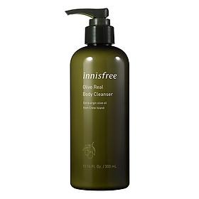 Sữa tắm dưỡng ẩm hương ô liu innisfree Olive Real Body Cleanser 131171209 (300ml)