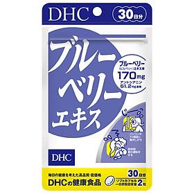 Thực Phẩm Bảo Vệ Sức Khỏe Viên Uống Việt Quất Bổ Mắt DHC Blueberry Extract - 30 ngày