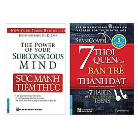 Combo Sách Hay: 7 Thói Quen Của Bạn Trẻ Thành Đạt + Sức Mạnh Tiềm Thức - (Bộ 2 Cuốn Sách / Sách Hấp Dẫn / Tặng Kèm Postcard Greenlife)