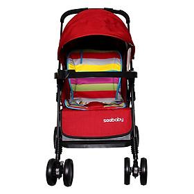 Xe Đẩy Trẻ Em 2 Chiều Seebaby T11-Red (Đỏ) - Mẫu Mới 2017