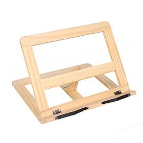 Giá đỡ đọc sách chống cận - khung gỗ đọc sách