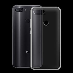 Ốp lưng cho Xiaomi Mi 8 Lite - 01196 - Ốp dẻo trong - Hàng Chính Hãng