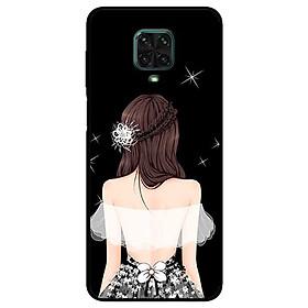 Ốp lưng dành cho Xiaomi Redmi 9s - 9 Pro - 9 Promax mẫu Cô Gái Áo Trắng