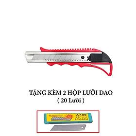 Dao rọc giấy bản rộng cao cấp ( Tặng kèm 2 hộp lưỡi dao )