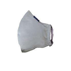 Khẩu trang chống nắng UPF50+ xám Zigzag MAS00102