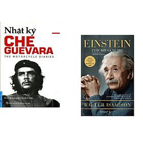 Combo 2 cuốn sách: Che Guevara - Nhật Ký Hành Trình Xuyên Châu Mỹ La Tinh + Einstein Cuộc Đời Và Vũ Trụ