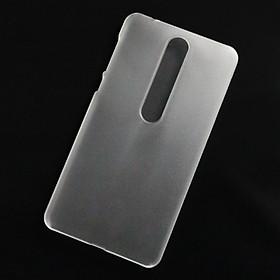 Ốp lưng dành cho Nokia 6.1, Nokia 6 2018 nhựa cứng nhám trong