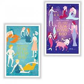 Combo 2 cuốn: Sống Theo Cung Hoàng Đạo + Yêu Theo Cung Hoàng Đạo - Tặng kèm bookmark AHA