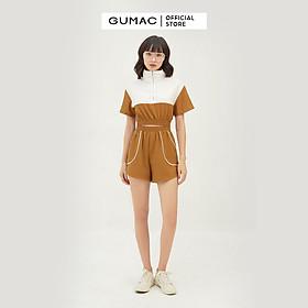 Quần short nữ viền túi GUMAC QB320
