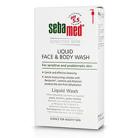 Sữa Rửa Mặt Và Tắm Toàn Thân Cho Da Nhạy Cảm Sebamed Liquid Face & Body Wash (300ml)