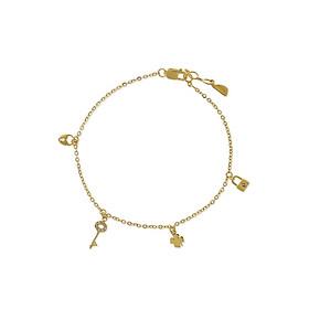 Lắc tay nữ vàng 14K - Huy Thanh Jewelry LLF06