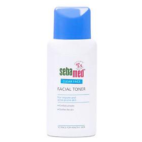 Nước Hoa Hồng Cân Bằng Da, Se Khít Lỗ Chân Lông pH 5.5 Sebamed Clear Face Deep Cleansing Facial Toner SCF03A (150ml)