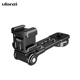 Giá đỡ phụ kiện ulanzi PT-13 cho tripod dùng cố định đèn LED microphone bằng nhôm cao cấp