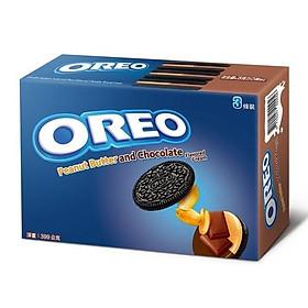 Bánh quy OREO vị sô cô la và đậu phộng (133gx3 gói)