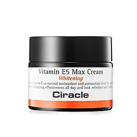 Kem dưỡng trắng da Ciracle Vitamin E5 Max Cream Whitening 50ml