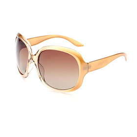 Oversized Eyewear for Women with Strong Light Protection Classic Vintage Large Frame Ladies Shades Fashion Retro Outdoor