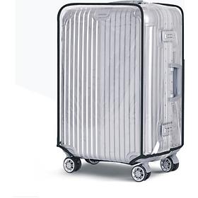 Trùm vali Bao hình lí nhựa trong suốt 20 - 24 -28 inch F4