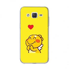 Hình đại diện sản phẩm Ốp lưng in hình QOOBEE thả tim cho các dòng Samsung Galaxy J