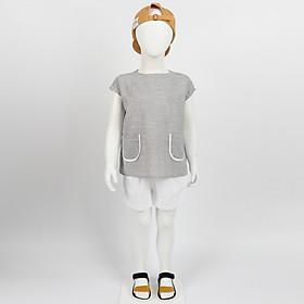 Set bộ quần áo trẻ em cotton cá tính cho bé từ 2 đến 8 tuổi - Nhập khẩu Hàn Quốc