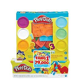 Đồ chơi học tập dành cho trẻ em PLAYDOH Khuôn tạo hình chữ số E8533/E8530