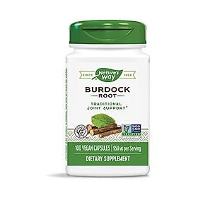 Nature's Way Burdock Root  100 Vegetarian Caps, Pack of 2