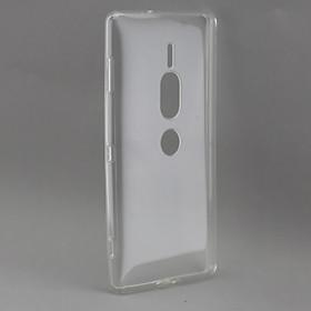 Ốp lưng silicon dẻo trong suốt dành cho  Sony Xperia XZ2 Premium siêu mỏng 0.5 mm