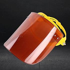 Reusable Face Guard Shield Spitting Anti-Fog Anti-splash Raisable Visor