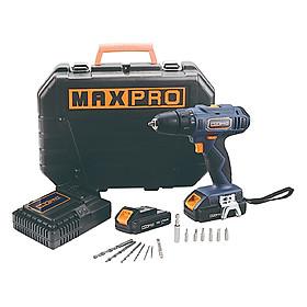 Hình đại diện sản phẩm Máy Khoan Pin Maxpro MPCD18Li/2 (10mm)
