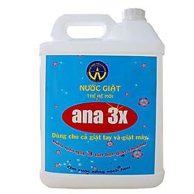 Nước giặt VBT Ana 3x thế hệ mới chai (5 lít)