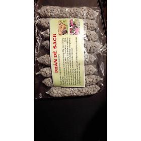Combo 2 bịch phân dê (10 túi/bịch - cỡ 22 đến 25cm)- đã qua xử lý,  dùng để bỏ vào gốc hoa lan, bonsai, cây cảnh