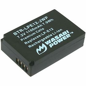 Pin Wasabi LP-E12 For Canon Eos M10, M50, M100, Eos Rebel SL1, Eos 100D - Hàng Nhập Khẩu