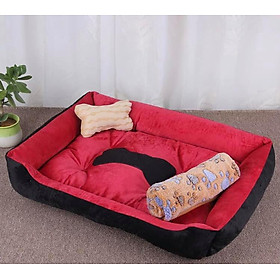 Nệm giường nằm cho chó mèo - giao màu ngẫu nhiên