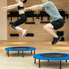 XiaomiZenph Foldable Muted Round Trampoline Kids Indoor Entertainment Tool Adult Fitness Workout Stability Training Trampoline-4
