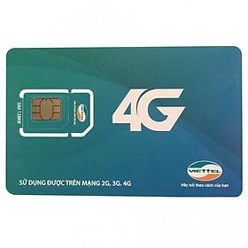 Sim 4G Viettel Gọi và 4G (Gói F90)