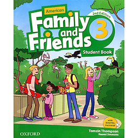 American Family and Friends 3: Student Book (With Digital Package) (2nd Edition)