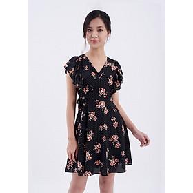MAYBI - Đầm chấm bihoa bèo vai Srow Tiny Dress