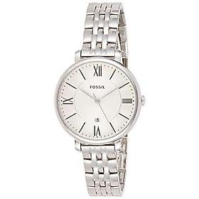 Fossil Jacqueline Quartz Movement Silver Dial Ladies Watch ES3433