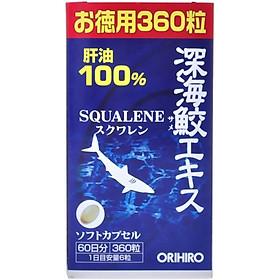 Viên uống sụn vi cá mập Orihiro Nhật Bản hỗ trợ xương khớp, bảo vệ mắt, ngăn ngừa lão hóa, 360 viên/lọ - HÀNG CHÍNH HÃNG