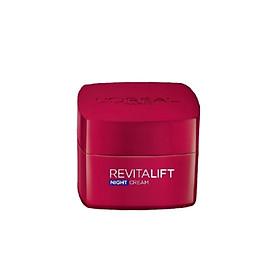 Kem dưỡng đêm săn chắc da & giảm nếp nhăn L'Oreal Paris Revitalift 20 ml