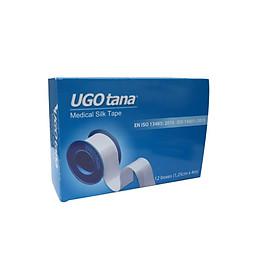 Băng dính cuộn vải lụa y tế UGOTANA (1,25cm x 4m)