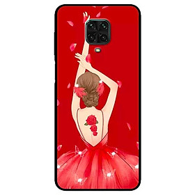 Ốp lưng dành cho Xiaomi Redmi 9s - 9 Pro - 9 Promax mẫu Cô Gái Múa