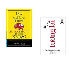 Combo 2 cuốn sách: Bài Học Diệu Kỳ Từ Chiếc Xe Rác (Khổ lớn) + Học làm người - Đầu tư tương lai