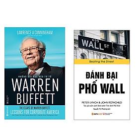 Combo Sách Kĩ Năng Kinh Doanh:  Đánh Bại Phố Wall (Tái Bản 2018) + Những Bài Học Đầu Tư Từ Warren Buffett