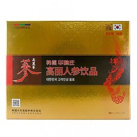 Hộp 8 chai Nước uống Hồng sâm 6 năm Daedong Hàn quốc - Daedong Korea Red Ginseng Drink (100ml x 8)