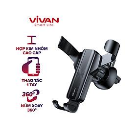 Giá Đỡ Điện Thoại Xe Ô Tô VIVAN CHS09 Phù Hợp Điện Thoại 4.0-6.5 inch Xoay 360 Độ-Hàng chính hãng