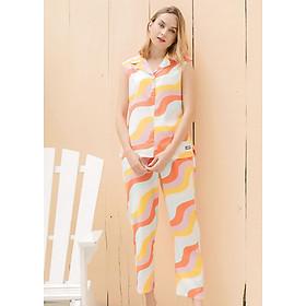 Bộ dài ngắn tay Tvm Luxury Homewear B495