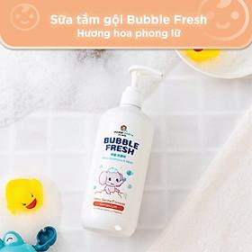 Sữa tắm gội Bubble Fresh hương hoa phong lữ 500ml - Joona Baby