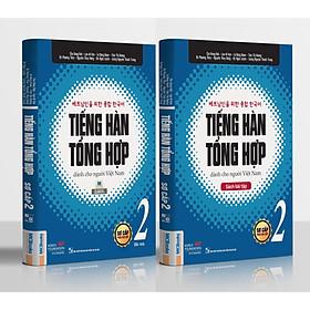 Trọn Bộ Tiếng Hàn Tổng Hợp Dành Cho Người Việt Nam - Sơ Cấp 2(Bản In 4 Màu) Tặng Kèm Portcard Những Câu Nói Hay Của Người Nổi Tiếng